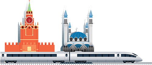Design and construction of the moscow-kazan high-speed railway